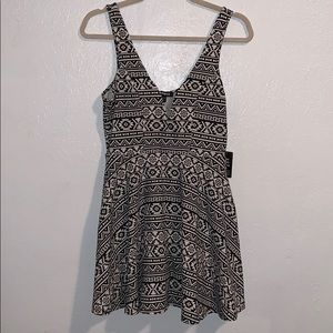Express Skater dress with shorts attached NWT